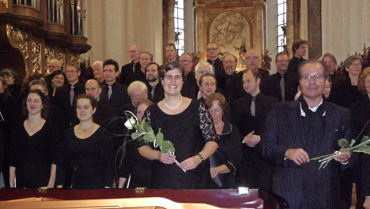 Johannes Brahms' sakrales Meiste...in Kahlen im St. Trudpert aufgeführt.   | Foto: Bianca Flier