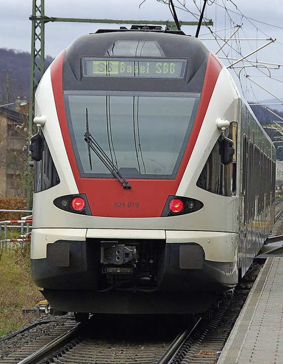 Die S-Bahn könnte bald häufiger fahren   | Foto: Nikolaus Trenz