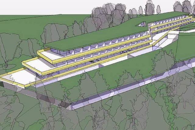 Hotel-Pläne für den Kurpark Bad Krozingen vorgestellt