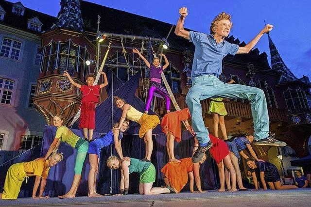 Circus Harlekin in Freiburg