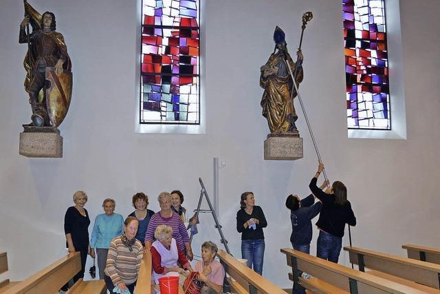 Gemeinsam für eine gepflegte Kirche