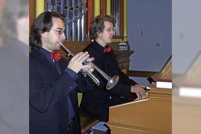 Ein Konzert für Orgel und Trompete