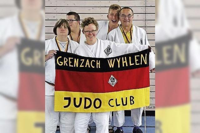 Judoka holen fünf Titel