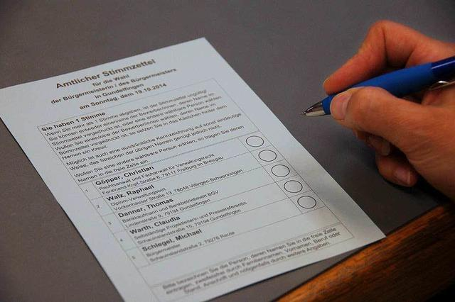 Was Wähler vor der Bürgermeisterwahl wissen müssen