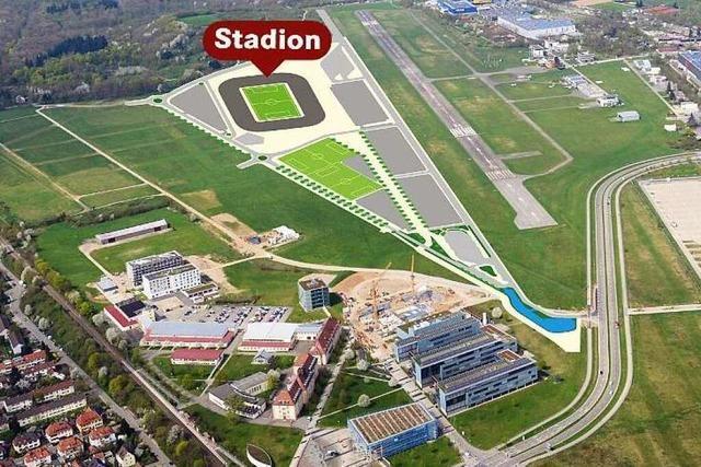 Freiburger CDU spricht sich für SC-Stadion am Wolfswinkel aus