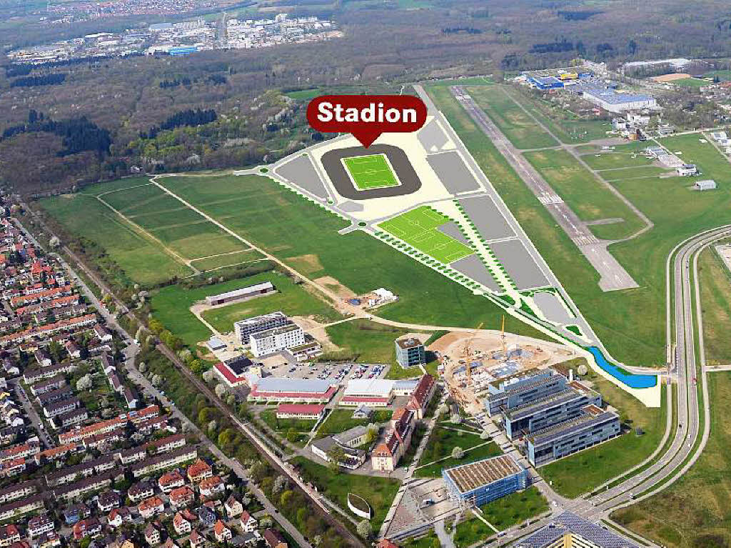 Freiburg Stadion Neubau