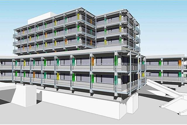Neues Rathaus unter Vorbehalten
