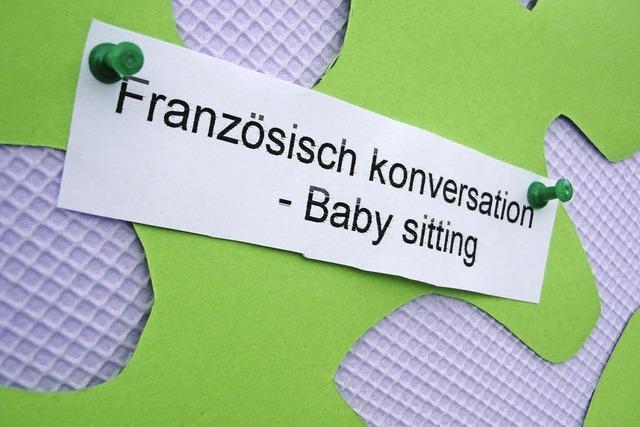 Biete Hausputz gegen Babysitten