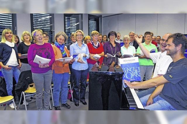 Startschuss für die Missa Solemnis