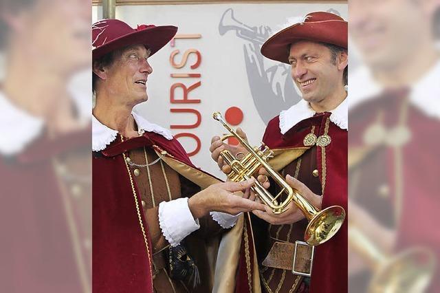 Bad Säckingen hat einen neuen Trompeter