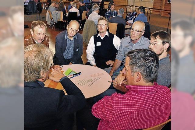 Diskussion zum Biosphärengebiet