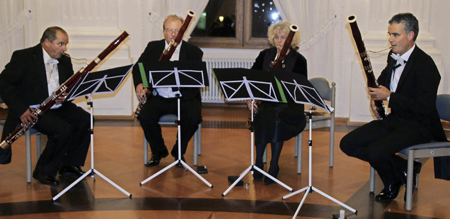 Michael Roser, Frank Lehmann, Marianne... ihre Zuhörer in besonders gute Laune.    Foto: Margrit Matyscak
