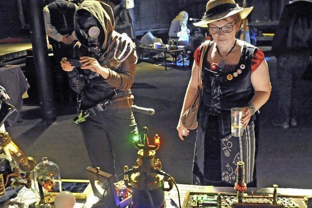 Steampunk-Convention im Freiburger Crash