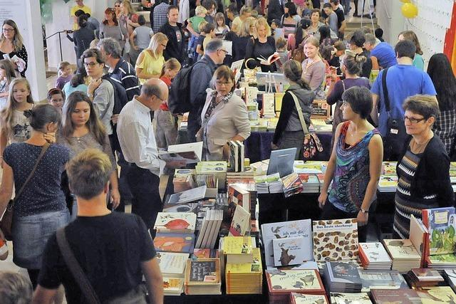 Tausende besuchten das Lirum-Larum-Lesefest im Stadttheater