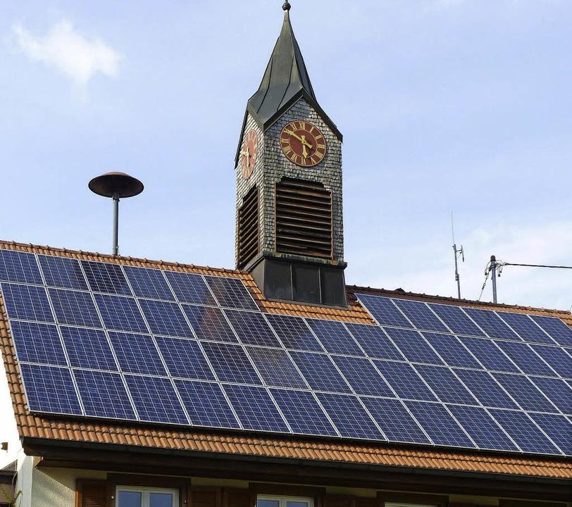 Der Verein macht sich trotz Rückschlag...n stark. Im Foto das Rathaus Bürchau.   | Foto: Sattelberger