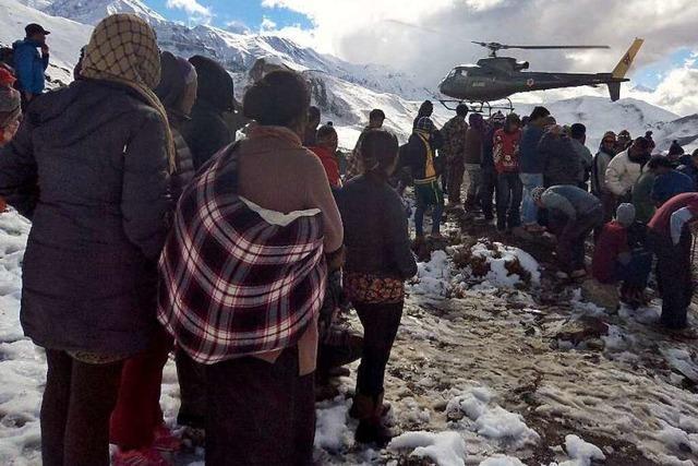 Etwa 60 Tote im Himalaya – DAV-Mitglieder retten sich