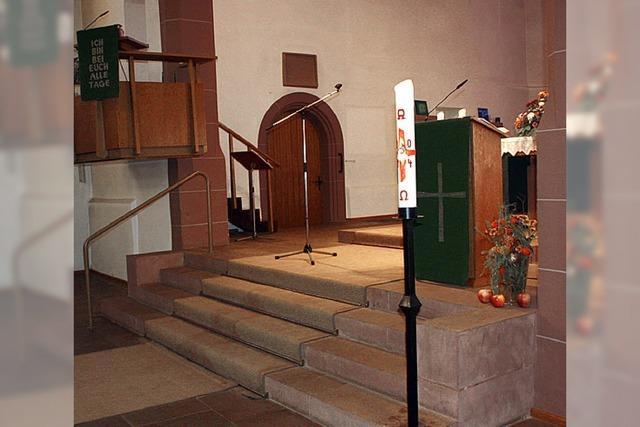 Altarraum soll neu gestaltet werden
