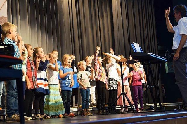 Kinderchorfestival des Untermarkgräfler Chorverbands