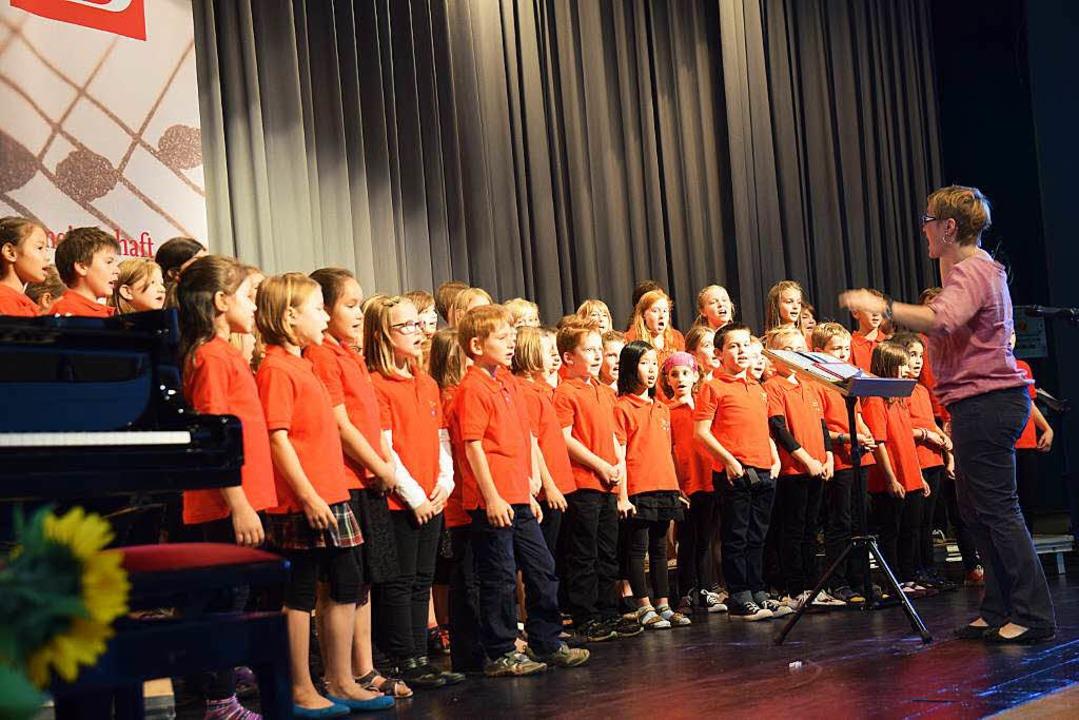 Die Klemmbachspatzen des Gemischten Chors Schweighof  | Foto: Beatrice Ehrlich