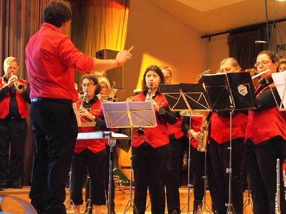 Konzert der Harmonie Echo des Vallées ...takt am Sonntag in der Dachsberghalle.  | Foto: Karin Stöckl-Steinebrunner