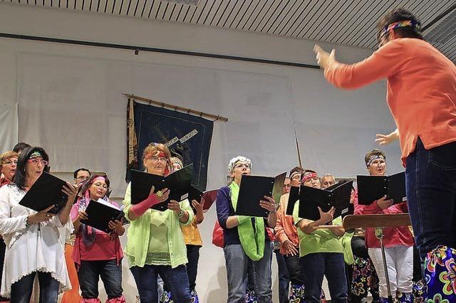 Schlager, Schunkeln und Stimmung beim Eschbacher Gesangverein