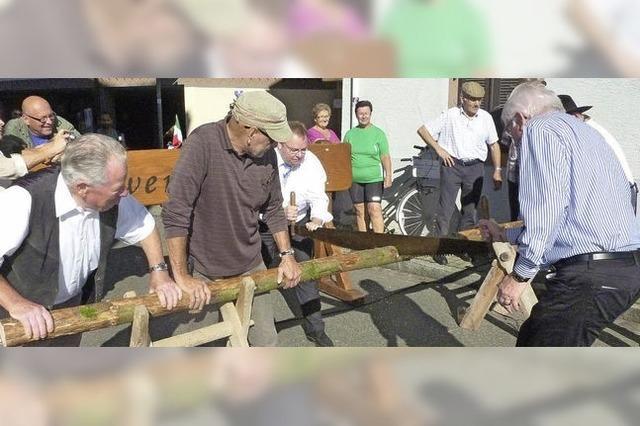 Altes Handwerk und der Hammellauf