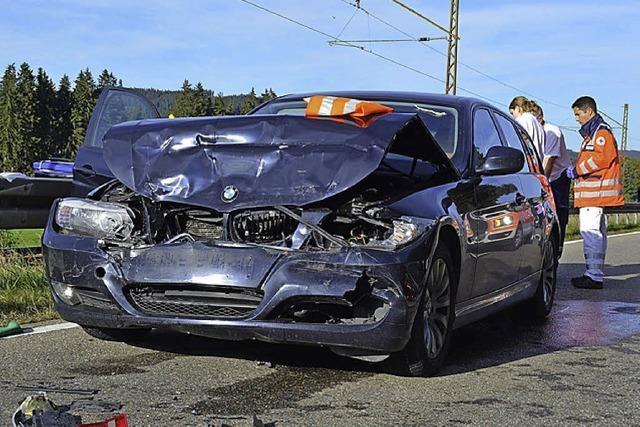 Vier Verletzte, hoher Schaden