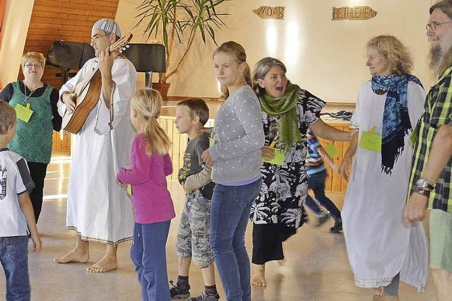 Kinderkirchentag auf Ruts Spuren