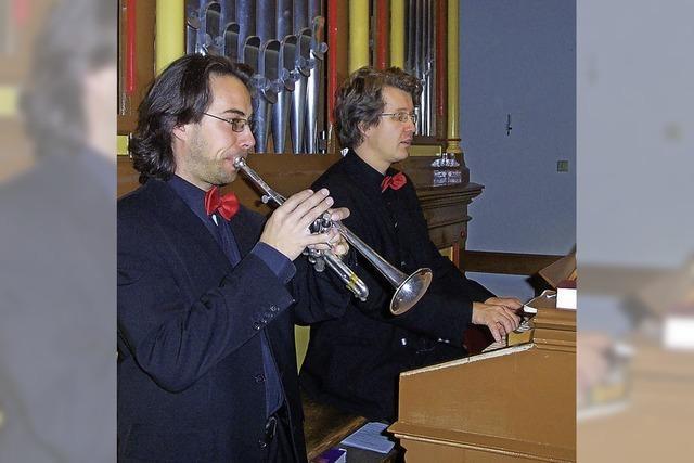 AB DONNERSTAG: KLASSIK: Trompete & Orgel