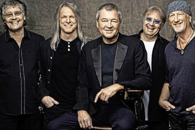 Deep Purple spielt am 1. Dezember 2015 in Straßburg