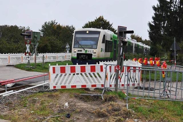Ihringen: Gemeinderat will den Bahnübergang wieder öffnen