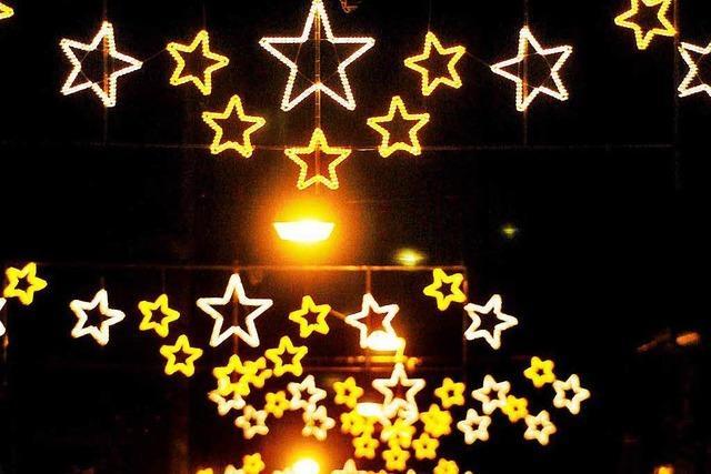 Lahrer Werbegemeinschaft will die Weihnachtsbeleuchtung erneuern