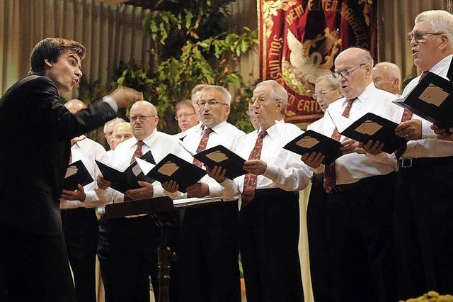 Viel Applaus für Konzert des neuen Dirigenten