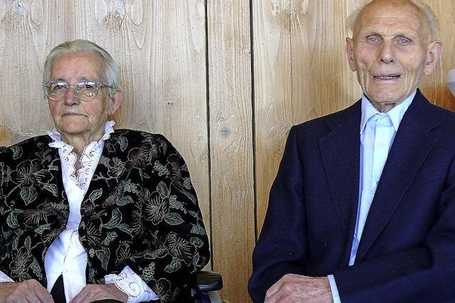Seit 70 Jahren verheiratet