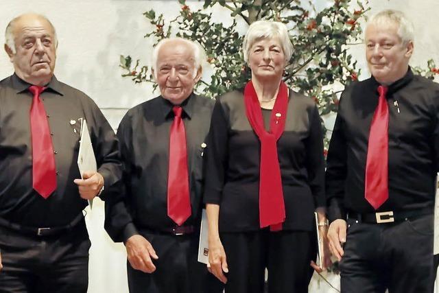 Ein treues Chor-Quartett
