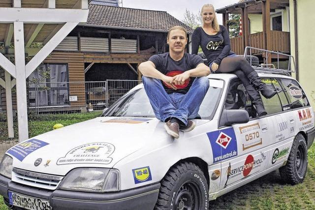 Mit dem Opel durch sieben Länder