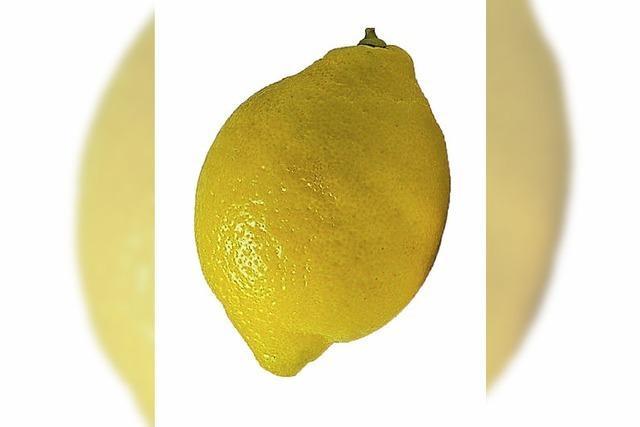 Netzgemeinde beißt in die Zitrone