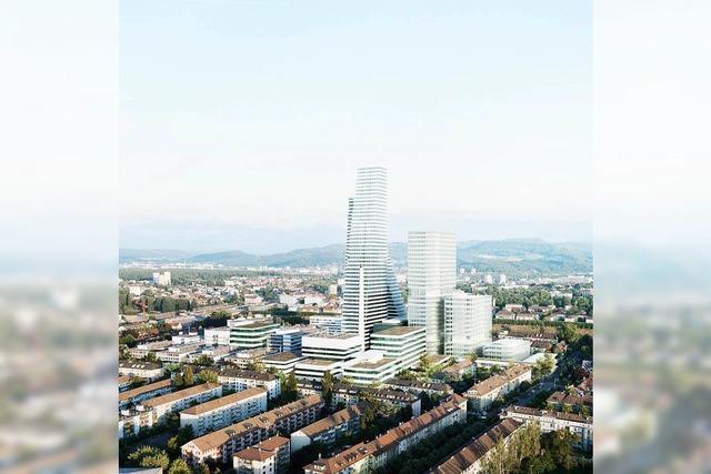Roche plant in Basel das erste 200-Meter-Hochhaus der Schweiz