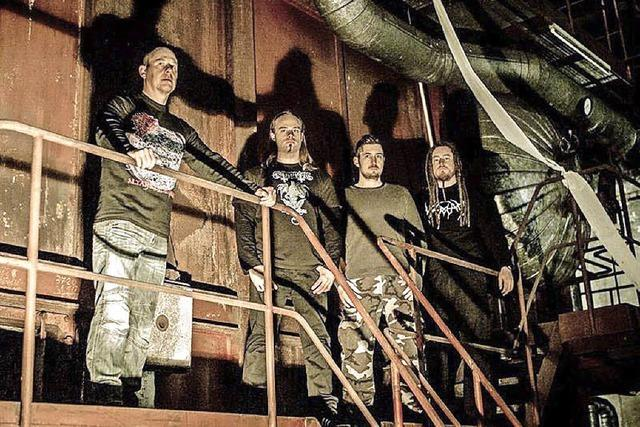 Convictors beim Metal Café live in Lörrach: Gute, alte Schule