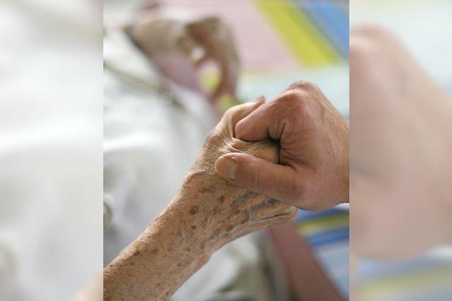 Statt Todesspritze mehr Hilfe für ein Ende in Würde
