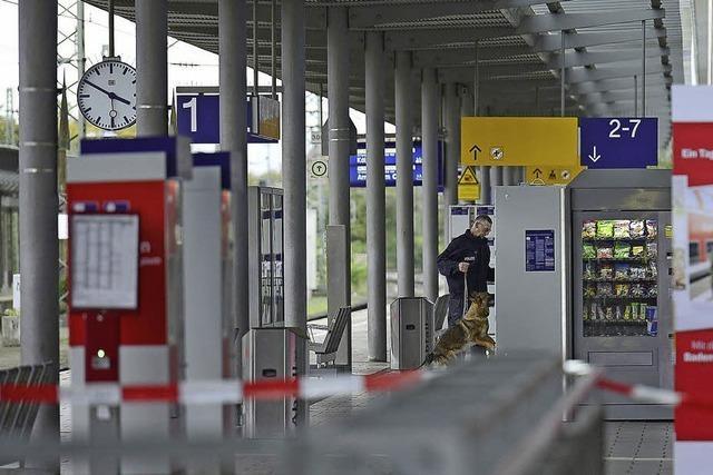 Bombenalarm am Bahnhof