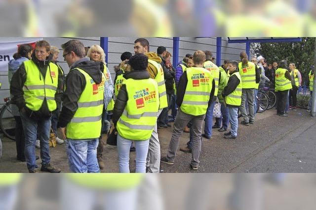 25 Stunden Streik bei Faller