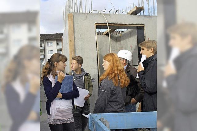 Schüler planen für die Neue Mitte