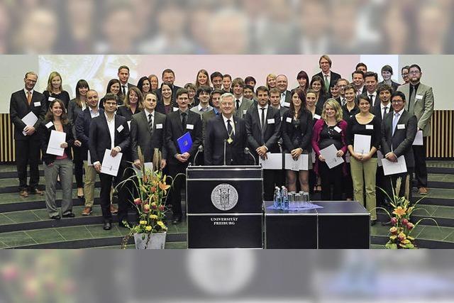 Universität vergibt Preise für Lehre, Engagement und Talent
