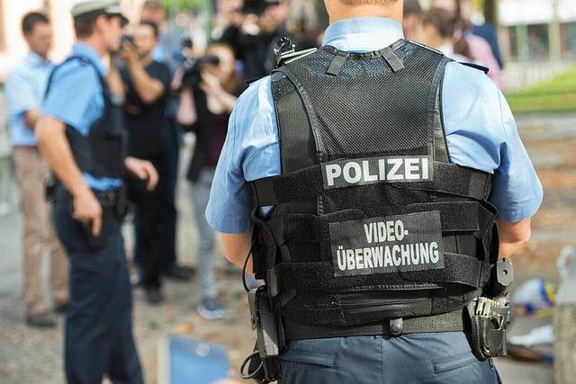 Freiburgs Polizei ist bereit für den Versuch mit Body-Cams
