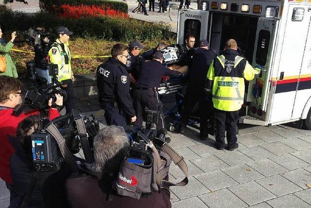 Tödlicher Anschlag auf Regierungsviertel in Ottawa