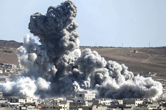 Kurden werfen IS Giftgaseinsatz vor
