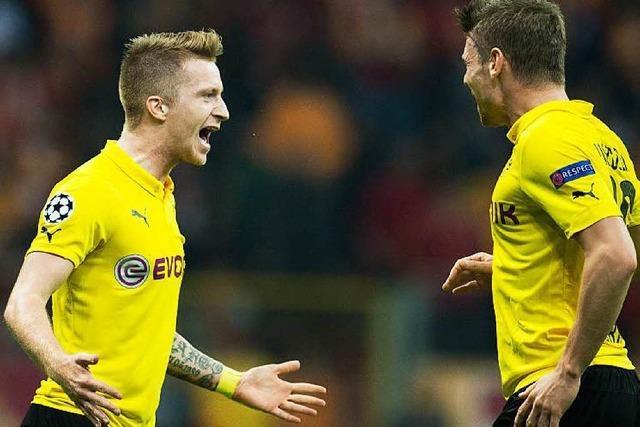Champions League: Alle vier Bundesligisten siegen