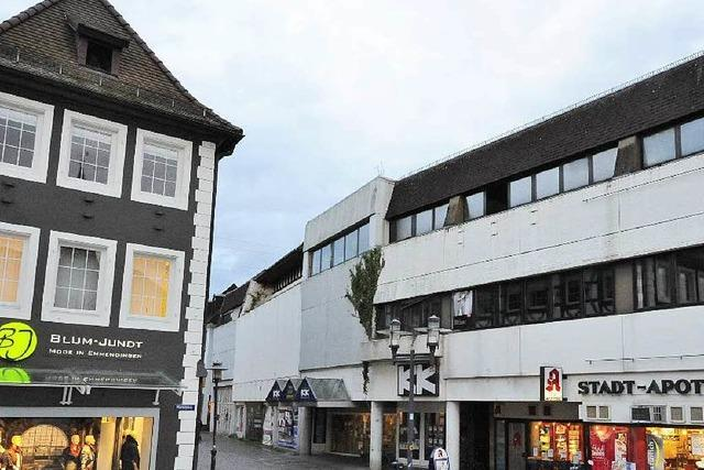 Kaufhaus Krauss kommt weg – Unmüßig plant Einkaufsgalerie