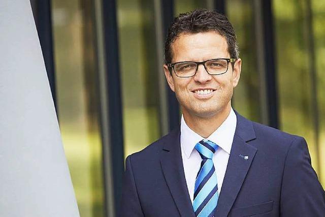Peter Rottenecker avanciert vom Sprecher zum Vorstandsvorsitzenden